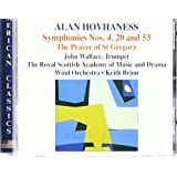 Hovhaness: Symphonies Nos. 4, 20 & 53; The Prayer of St. Gregory