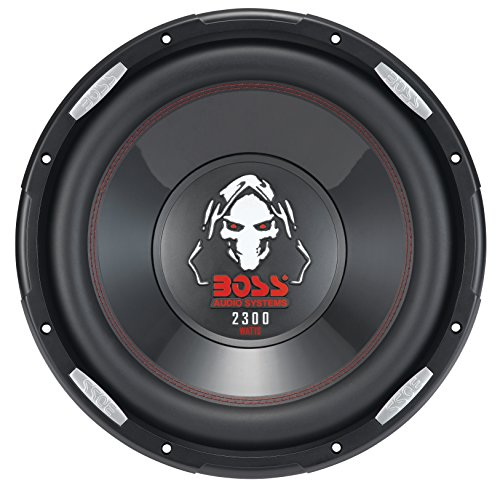 BOSS AUDIO P126DVC 12 Zoll 2300 Watt Subwoofer Phantom Serie (12 Auto Subwoofer)