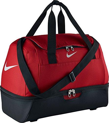 Nike Club Team Swoosh Hardcase M Bolsa de deporte, 47 cm, 62 liters, Rojo (Rot)