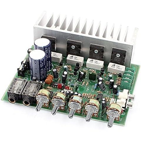 Hi-Fi 4 Canales Audio Amplificador De Potencia Estéreo Placa