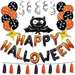 Shopping - Ratgeber 51BnvUvSYfL._AC_UL250_SR250,250_ Halloween Party- und Tisch-Deko für Innen