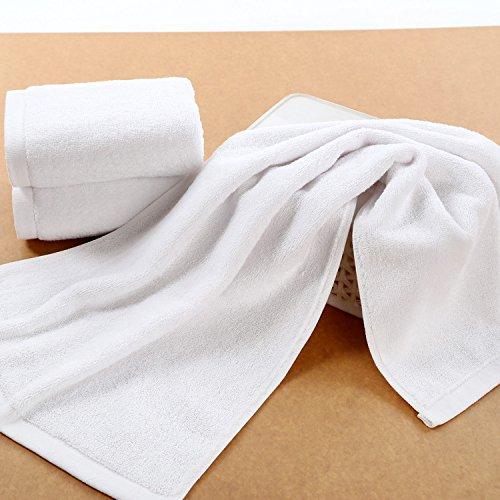 2e59276babc2 ZHFC pur coton épaississement serviette caféine salon bain de pieds  serviette retardateur de flamme 70