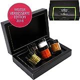 Hallingers 5er Premium-Grill-Gewürze als Geschenk-Set (100g) - Rund um die Welt (MiniDeluxe-Box) - zu Sommer Grillen Für Ihn