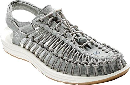 Keen Uneek, Sandales de Randonnée Homme, Taille Unique Neutral Gray/White