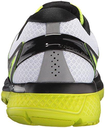 Saucony Triumph Iso 3, chaussures de course homme Blanc (White/black/citron)