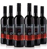 Lussory Merlot vino tinto sin alcohol caja de 6 ud