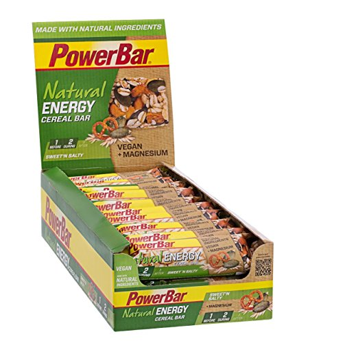 Powerbar natural energy cereales 24 barritas x 40 gr - sabor - cereale