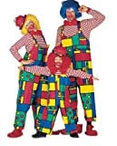 PARTY DISCOUNT ® Damen-Latzhose Clown, Gr. 46
