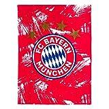 FC Bayern München Fleecedecke rot/weiß 150x200cm