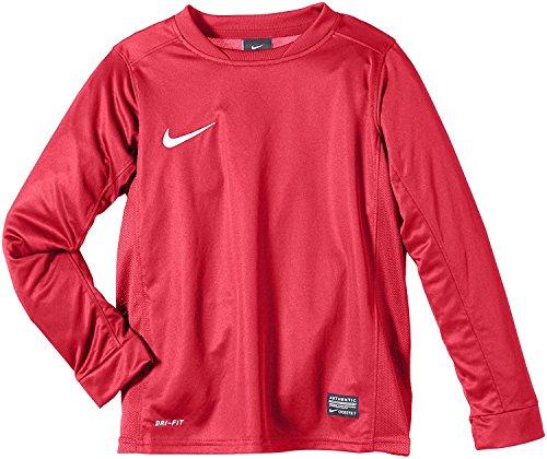 Nike Park V Trikot Langarm Mädchen Jersey , Rot/Weiß (100), 38 EU, 5 UK ,814444-100 (Park Nike-mädchen)