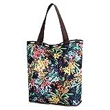 TianWlio Damen Klassische Handtasche Nylon Tuch Falttasche Handtasche der Frauen Gedruckt Tuch Tasche Schulter Falttasche Handtasche Winged Schultertasche Groß Umhängetasche Taschen