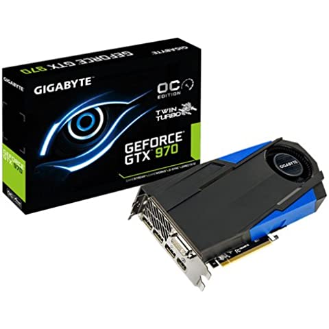 Gigabyte  GV-N970TTOC-4GD Nvidia Geforce GTX 970 Scheda Video, 4GB, (Twin Turbo Fan)
