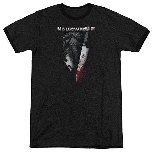 en T-Shirt Opaque schwarz schwarz Gr. M, schwarz (Scary Movie Halloween Ideen)