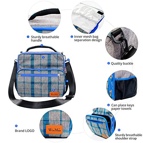 Zoom IMG-3 winmax borsa frigo riutilizzabile isolata