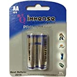 Immense AA LR6 Premium 1.5v Alkaline Battery (6 Blister Packs With 2 Cells Each)