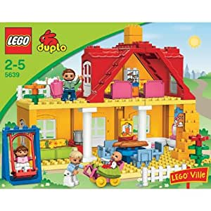 lego 5639 duplo ville jeu de construction la maison jeux et jouets. Black Bedroom Furniture Sets. Home Design Ideas