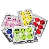 Smiley Face Anti Mücken Sticker