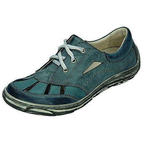 Miccos shoes-pantolette 200631, sandales femme Bleu - Rauchblau