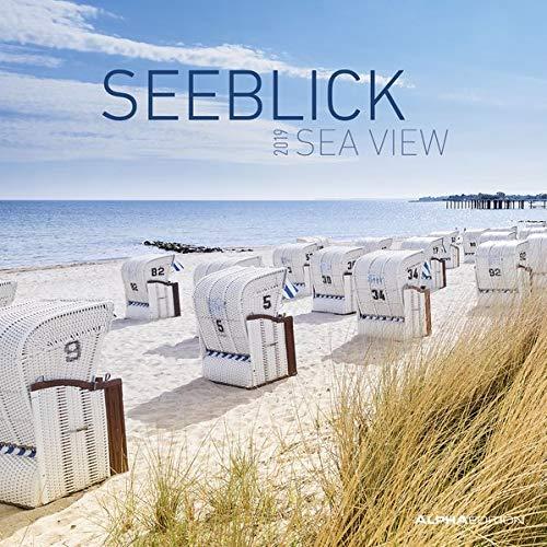 Seeblick 2019 - Broschürenkalender (30 x 60 geöffnet) - Landschaftskalender - Wandplaner
