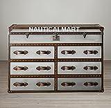 Mayfair Dampfgarer Trunk Doppel-Brust von nauticalmart