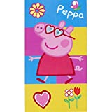 Toalla de Playa PEPPA PIG PATCH Oficial ( COTTON 100% ) 70x140 cms