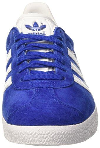 Adidas Bb5482 Gazelle, Chaussures De Sport Basses Bleues Pour Adulte Unisexe (collegiate Royal / Blanc / Or Métallisé)