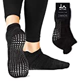 LA Active Grip Socken - Yoga Pilates Barre Ballet rutschfest (Stellar Black)