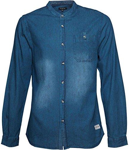 Firetrap - Chemise casual - Homme bleu jean