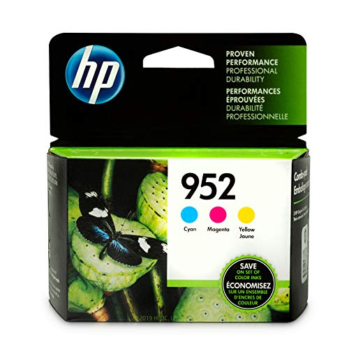 HP 952 Color Ink Cartridge Combo 3-pack 700 Seiten cyan, magenta, gelb Tintenpatrone - Druckerpatronen (HP, cyan, magenta, gelb, Officejet Pro 8210, Standard Yield, 700 Seiten, Leuchtmittel) - 3-pack-tintenpatronen