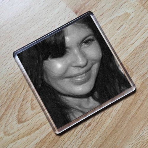 Seasons MARIA CONCHITA ALONSO - Original Art Coaster #js003