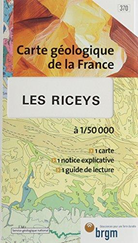 Carte géologique : Les Riceys