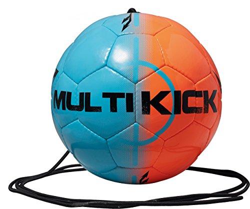 Derbystar balón de fútbol con cuerda para Mini, azul/naranja, 4, 4222000760