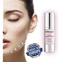 Mejor Serum Facial Hidratante. Ácido Hialurónico antiedad. Crema Gel anti arrugas para el rostro, Atenua líneas de expresión. Vitamina C, E, A, Retinol, Coenzima Q10, Elastina, Colageno, Aloe Vera