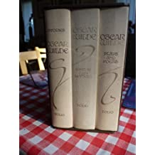 OSCAR WILDE STORIES, PLAYS AND POEMS, ESSAYS AND LETTERS. . 3 Volumes in a Slipcase
