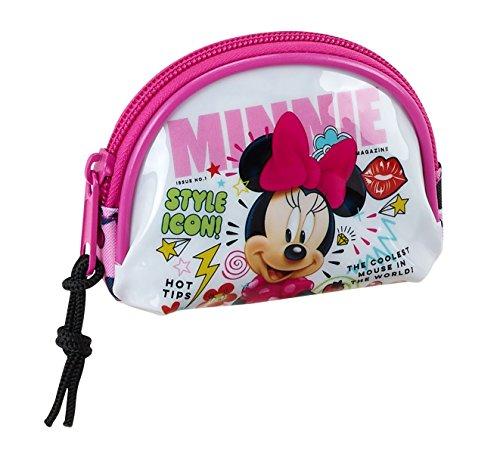 "Safta Monedero Minnie Mouse""Cool"" Oficial 95x30x80mm Minnie"