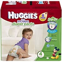 Huggies Pannolini Mutandina – Couche (enfant/fille, couches jetables, 9 kg, 14 kg, Multicolore, 36 PC (s))