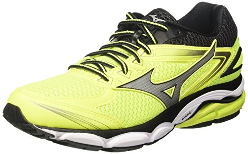 Mizuno Wave Ultima, Scarpe da Corsa Uomo, Multicolore (Safetyyellow/Silver/Black), 40.5 Eu (7 Uk)