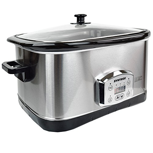 Syntrox Germany 7,5 l Slow Chef SC-750D Schongarer - 3