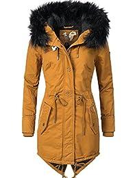 58a43c48d119 Khujo Damen Mantel Wintermantel Winterparka YM-Dorota 4 Farben + Camouflage  XS-XXL