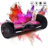 COLORWAY Hoverboard SUV 8.5 Pouces, Gyropode Tout-Terrain 700W avec LED, Scooter Électrique Auto-équilibrage pour Enfant et Adult