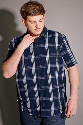 Yours Clothing - Chemise business - Homme Bleu Marine