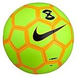 Nike NK weniger X Ball, Unisex Erwachsene, Unisex – Erwachsene, NK MENOR X, grün / (Volt/Laser orange/Black)