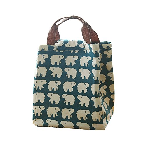 neeiors-portable-reusable-cotton-linen-lunch-bag-insulated-thermal-lunch-tote-velcro-cooler-food-ben