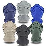 YouGa Headband Bandana - Outdoors Headwear, Scarf Bandanna, Wide Headband, Headwrap Balaclava Tube Mask Multifunctional Headwear(6*Solid)