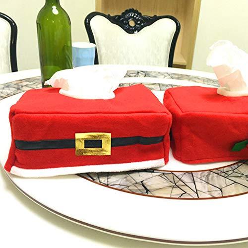 JIALI - Servilletero con diseño navideño
