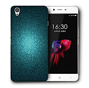 Snoogg Green Pattern Design Printed Protective Phone Back Case Cover For OnePlus X / 1+X