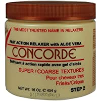 Vitale No Base Hair Relaxer Concorde for Super Coarse Texture