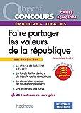 Les valeurs de la République aux concours - Epreuve orale de mise en situation professionnelle (Objectif Concours) (French Edition)