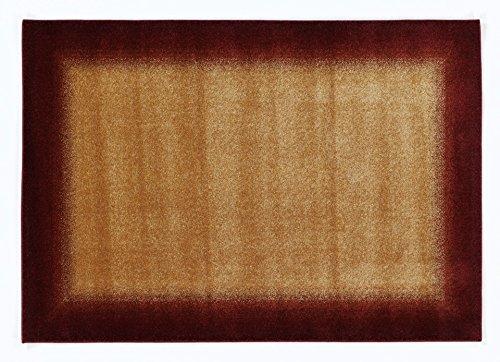 COSINESS FADE moderner Designer Teppich in kupfer, Größe: 120x170 cm -