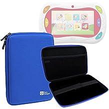 DURAGADGET Funda Tapa Dura Azul Para Gioco Happy Tablet 5710 De Chicco   Con Bolsillo De Red En Su Interior - Alta Calidad